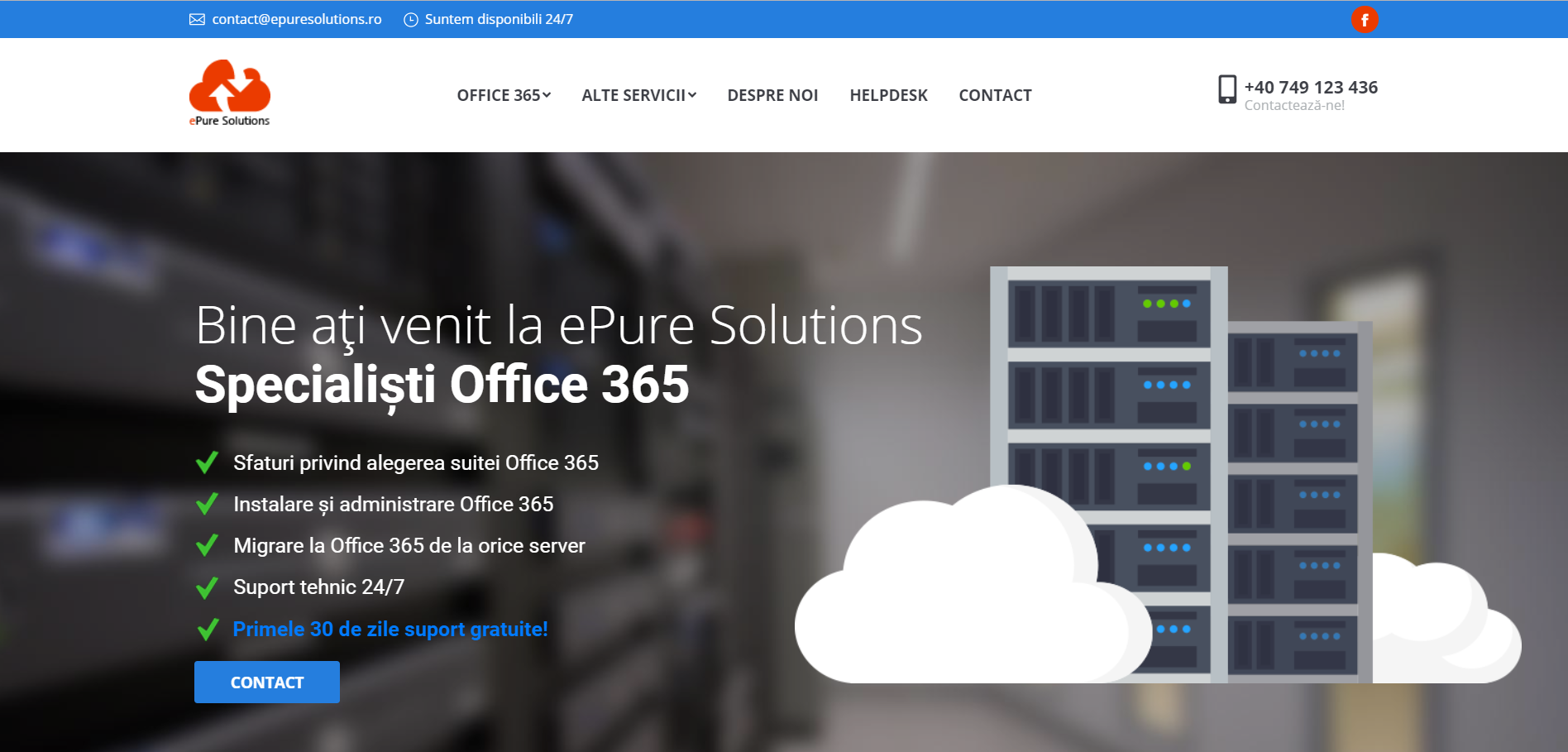 Suport tehnic Office 365